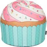 Woouf Kids Bean Bags Cupcake Bean Bag Cover, Blue