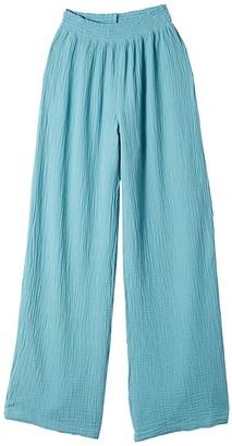 bobi Los Angeles Beach Gauze Pants (Surf) Women's Casual Pants