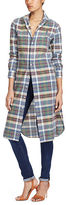 Polo Ralph Lauren Cotton Madras Shirtdress