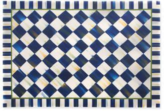 Mackenzie Childs Royal Check Floor Mat 3' x 5'