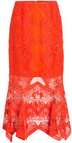 Jonathan Simkhai Lace Midi Skirt