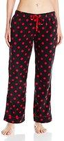 Bottoms Out Women's Printed Microfleece Pajama Pant