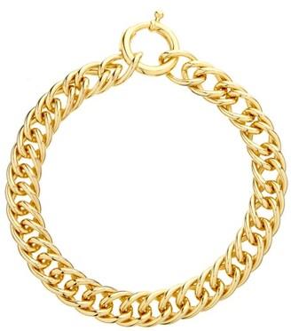 Rosantica Binari Chunky Chain Choker - Gold