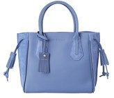 Longchamp Penelope Fantaisie Small Leather & Suede Tote.