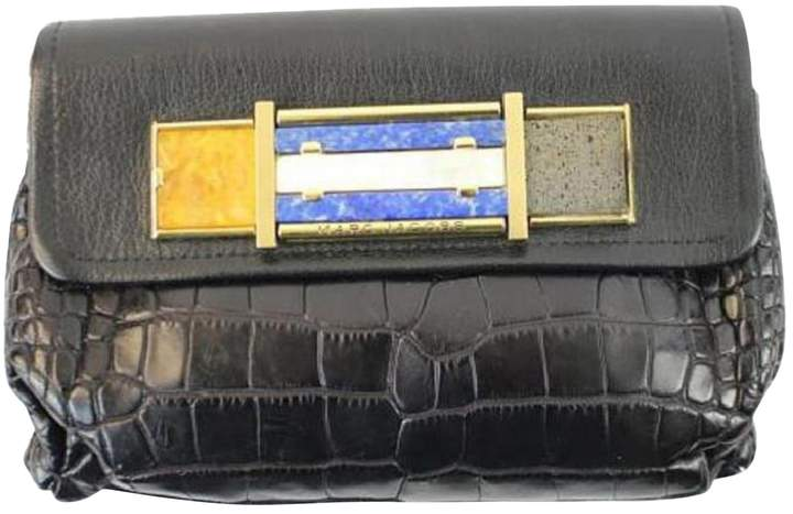 Marc Jacobs Crocodile clutch bag
