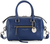 Marc Jacobs Recruit Small Leather Bauletto Bag, Dark Blue