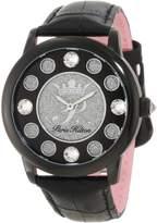 Paris Hilton Women's PH.13181JSB/02A Fame Pave Glitter Leather Watch