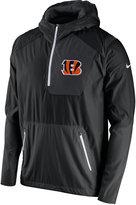 Nike Men's Cincinnati Bengals Vapor Speed Fly Rush Hooded Jacket