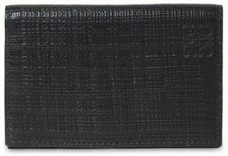 Loewe Textured Leather Card Holder