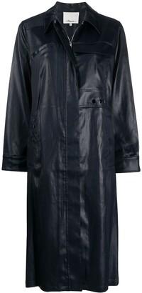 3.1 Phillip Lim Zip-Up Over Coat