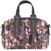 Patrizia Luca Small Camo-Embossed Crossbody Bag