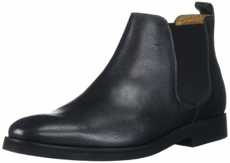 Driver Club USA Men's Geuine Leather Boot with Lug Sole Ankle