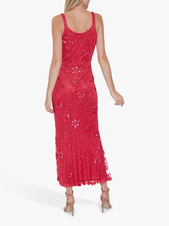 Thumbnail for your product : Gina Bacconi Zaina Beaded Dress