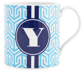 Jonathan Adler Light Blue Carnaby Mug - Y
