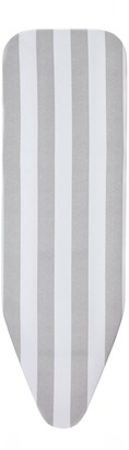 John Lewis & Partners Grey Stripe Ironing Board Cover