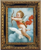 Bianchi Arte Oil on Canvas Cherub Painting