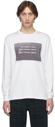 Rag & Bone White Empty Long Sleeve T-Shirt