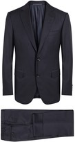 Pal Zileri Midnight Blue Wool Suit