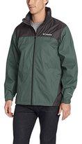 Columbia Men's Glennaker Lake Front-Zip Rain Jacket with Hideaway Hood