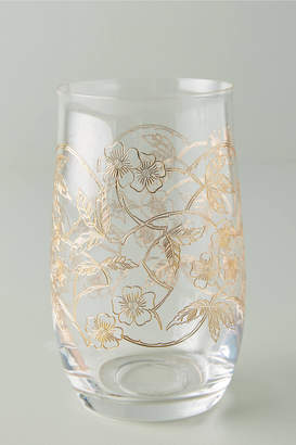 Anthropologie Fiorella Highball Glasses, Set of 4