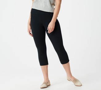Denim & Co. Active French Terry Pull-On Capri Pants