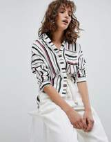 Suncoo Variegated Stripe Shirt
