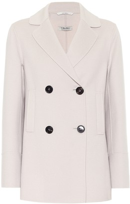 S Max Mara Dea wool and angora blazer
