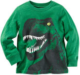 Carter's Long-Sleeve Dinosaur Graphic Tee