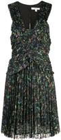 Derek Lam 10 Crosby pleated floral mini dress