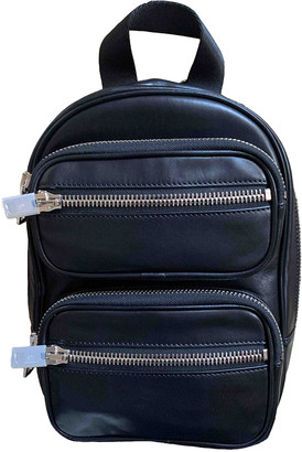 Alexander Wang Black Leather Backpacks