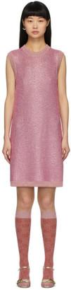 Gucci Pink Crystal Short Dress