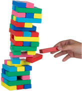 Trademark Hey Play Classic Wooden Blocks Stacking Game