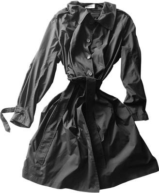 Ann Demeulemeester Black Trench Coat for Women