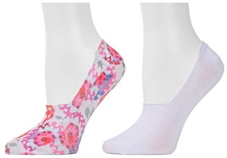 Natori Abstract Floral Liners - 2 Pair Pack