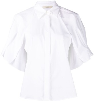 Odeeh Plain Cotton Shirt