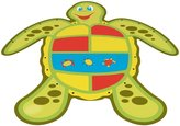 Aqua Leisure Turtle Spray Mat