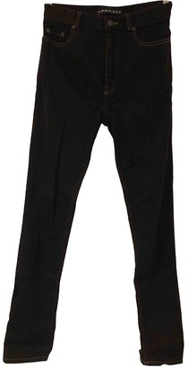 Y/Project Black Cotton Trousers for Women