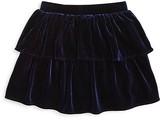Bardot Junior Girls' Velour Ra-Ra Skirt - Sizes 4-7