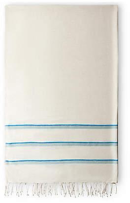 Bole Road Textiles Omo Bath Towel - Azure