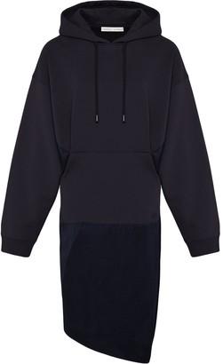 Fenty by Rihanna Dual-fabric hoodie dress
