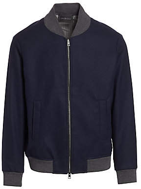 Saks Fifth Avenue Wool-Blend Bomber Jacket