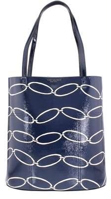 Tory Burch Block-T Ladies Medium Leather Tote Handbag 39636409