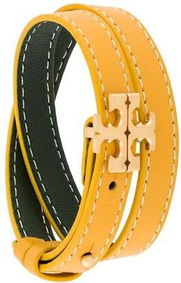Tory Burch logo plaque bracelet