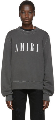 Amiri Black Logo Core Sweatshirt