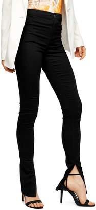 Topshop Split Hem Joni Jeans 32-Inch Leg