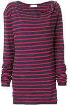 Faith Connexion wide neck striped jumper