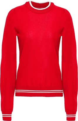 Etoile Isabel Marant Striped Jersey Sweatshirt
