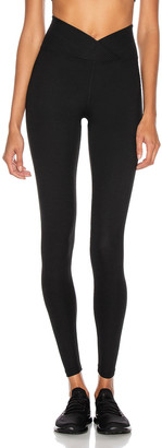YEAR OF OURS Ribbed Veronica Legging in Black | FWRD