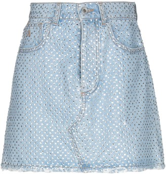 ATTICO Denim skirts