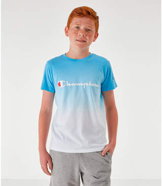 Champion Boys' Dip Dyed Logo T-Shirt